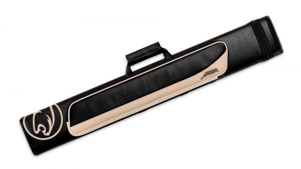 Predator Roadline Black/Beige Hard Pool Cue Case - 3 Butts x 5 Shafts