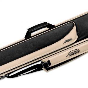Predator Roadline Black/Beige Soft Pool Cue Case - 4 Butts x 8 Shafts