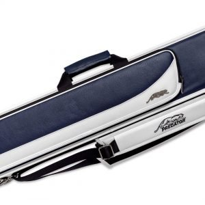Predator Roadline Blue/White Soft Pool Cue Case - 4 Butts x 8 Shafts