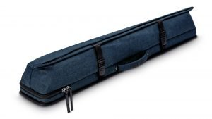Predator Urbain Blue Soft Pool Cue Case - 2 Butts x 4 Shafts