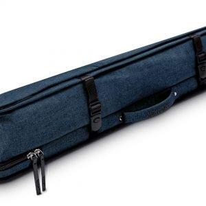 Predator Urbain Blue Soft Pool Cue Case - 2 Butts x 4 Shafts