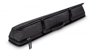 Predator Urbain Dark Grey Hard Pool Cue Case - 2 Butts x 4 Shafts