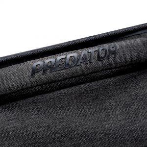 Predator Urbain Dark Grey Hard Pool Cue Case - 2 Butts x 4 Shafts