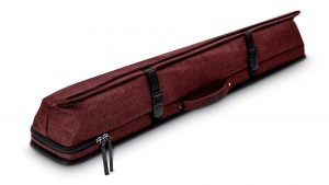 Predator Urbain Red Hard Pool Cue Case - 2 Butts x 4 Shafts