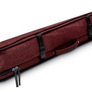 Predator Urbain Red Hard Pool Cue Case - 2 Butts x 4 Shafts