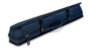 Predator Urbain Blue Hard Pool Cue Case - 3 Butts x 5 Shafts