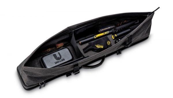 Predator Urbain Dark Grey Hard Pool Cue Case - 3 Butts x 5 Shafts