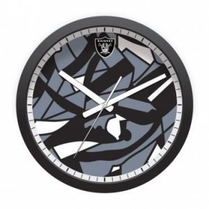 LAS VEGAS RAIDERS MODERN CLOCK