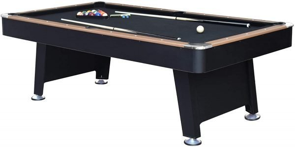 Stafford Seven Foot 3 in 1 Billiards Table, Table Tennis Top and Glide Hockey Top with Cue Rack