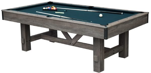 Logan 7 Foot 3 in 1 Pool Table w/ Benches