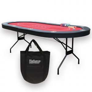 Fourth Street Folding Texas Holdem' Table