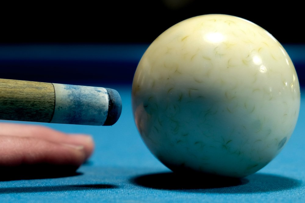 cue ball spin